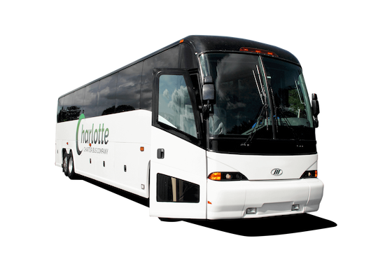 Charlotte charter bus company